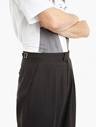 Raf Simons Black Relaxed Cotton Trousers