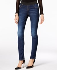 Inc International Concepts Curvy Fit Sunday Wash Skinny Jeggings Only At Macy's