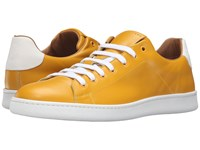 Marc Jacobs Clean Nappa Low Top Sneaker Yellow