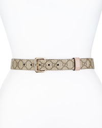 Gucci Reversible Leather Belt Cipria Brown