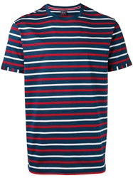 Paul And Shark Stripe Crew Neck T Shirt
