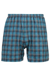 Calida Boxer Shorts Caribbean Sea Blue