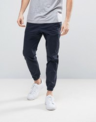 Jack And Jones Intelligence Slim Fit Chino With Drawstring Waist Cuffed Hem Dk Navy 252