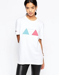 Le Coq Sportif Dynactif T Shirt Optical White