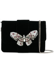 Ermanno Scervino Butterfly Cross Body Bag Black