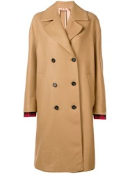 N 21 No21 Double Breasted Coat Neutrals