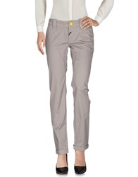Dek'her Casual Pants Dove Grey
