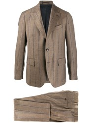 Gabriele Pasini Single Breasted Suit Neutrals