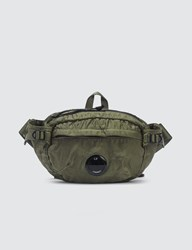 C.P. Company Cp Garment Dyed Lens Belt Bag Green