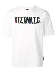 Ktz Mountain Letter T Shirt White