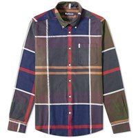 Barbour Dunoon Shirt Blue