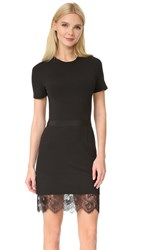 Carven Short Sleeve Dress Noir