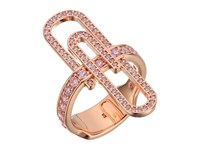 Vivienne Westwood Doreen Ring Pink Cubic Zirconia Ring