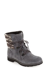 The North Face Women's 'Ballard' Lace Up Boot Iron Gate Grey Black