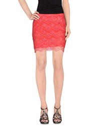 Cycle Skirts Mini Skirts Women Red
