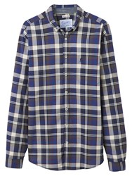 Joules Forester Classic Check Shirt Navy