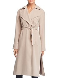 Cole Haan Player Button Front Trench Coat Sand