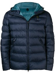Blauer Short Padded Jacket Blue