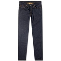 Rrl Low Straight Jean Blue