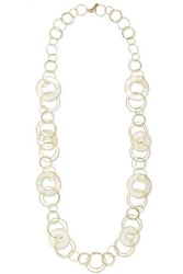 Ippolita Polished Rock Candy 18 Karat Gold Mother Of Pearl Necklace One Size