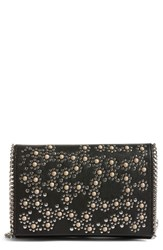 Chelsea 28 Chelsea28 Embellished Faux Leather Convertible Clutch