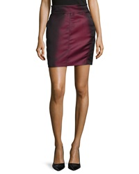 Philosophy Di Alberta Ferretti Seamed Side Button Skirt Multi
