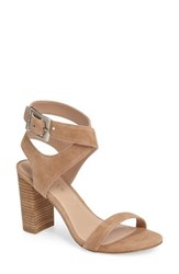 Charles By Charles David Women's Eddie Sandal Natural Suede
