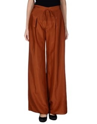 Fendi Casual Pants Brown