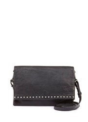 Mint Velvet Black Sophia Stud Cross Body Bag Black