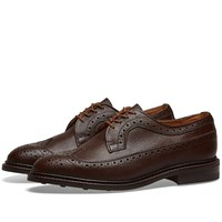 Tricker's Fulton Long Wing Brogue Brown