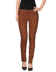 Gaudi' Denim Pants Brown