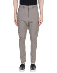 Poeme Bohemien Casual Pants Dove Grey