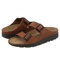 Mephisto Zonder Tan Full Grain Leather Men's Sandals