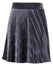 Vila Visomina Mini Skirt Total Eclipse Dark Blue