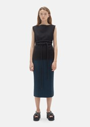 Organic By John Patrick Wool Ribbed Skirt Scuba