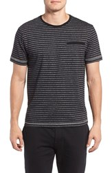 Majestic International Men's Stripe T Shirt