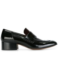 Marc Jacobs Bi Colour Penny Loafers Brown