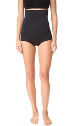 Yummie Tummie Flora High Waist Girl Shorties Black