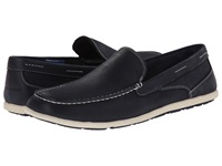 Rockport Bennett Lane 3 Cape Noble 3 Venetian Navy Tumbled Men's Slip On Shoes