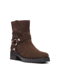 Michael Kors Macey Suede Ankle Boot Chocolate