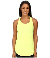 New Balance Perfect Tank Top Firefly Heather Women's Sleeveless Yellow