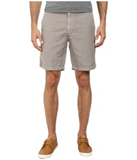 Ag Adriano Goldschmied Wanderer Cotton Linen Blend Shorts In Sulfur Shale Sulfur Shale Men's Shorts Gray