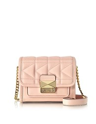 Karl Lagerfeld Light Pink K Kuilted Crossbody Bag