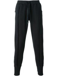 Blood Brother Exposed Seam Track Pants Black