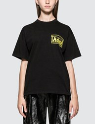 Aries Foursquares Graphic Short Sleeve T Shirt
