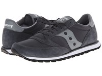 Saucony Jazz Low Pro Charcoal Grey Men's Classic Shoes Gray