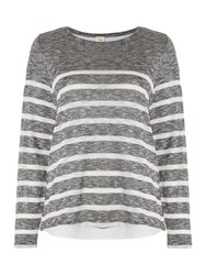 Linea Cavern Double Layer Top Grey Marl
