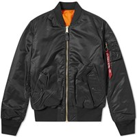 Alpha Industries Classic Ma 1 Jacket Black