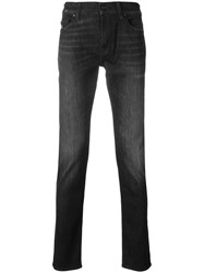 7 For All Mankind Ronnie Skinny Jeans Black