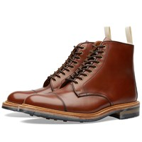 Trickers End. X Tricker's Toe Cap Boot Brown